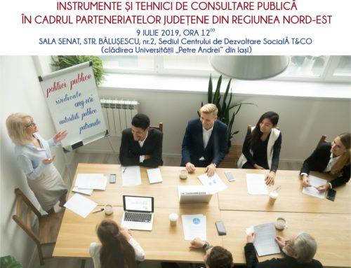 Întâlnirea de lucru a Parteneriatului Județean Iași – 9 iulie 2019